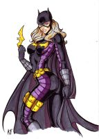 Stephanie Brown as Batgirl by CrimsonArtz