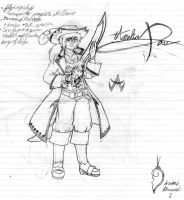 possible pirate character by Thylanos