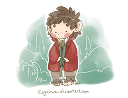 Hobbit - Bilbo Baggins of Bag End by caycowa
