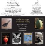 Show at the Caribou Art Gallery June - July by rhodespottery