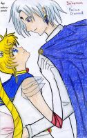 Usagi x Diamond - what if? by takara-jewels