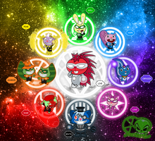 HTF Lantern Corps by skull1045fox