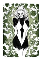 Silver Banshee illo by robthesentinel