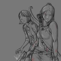 Lara and Sam: On The Run by canius