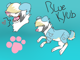 Reff- Blue Kyub by DrunkDOGS