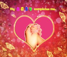 My baby completes me by Sakura060277