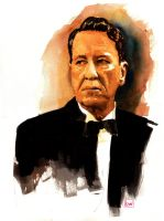 Geoffrey Rush by lloyd-art