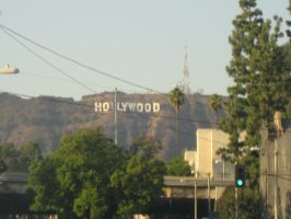 Hollywood Sign by Belly-Button-Monster