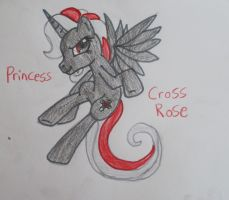 Princess Cross Rose by VexerRVixen