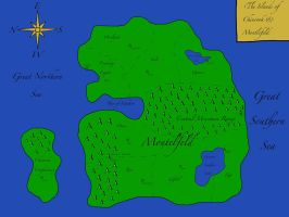 Map of the Islands of Chinrook and Montelfeld by Lt-Fennec