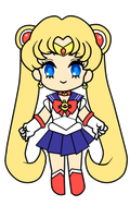 Sailor Moon (Animated) by MilkPeach