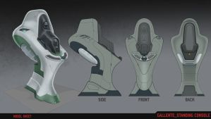 Standing Console Modelsheet by atomhawk