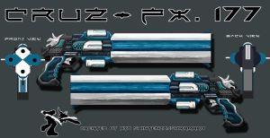Weapon Design: CruZ-FX. 177 by Shintenzu