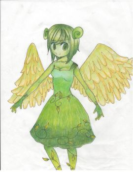 Green Girl: Contest Entry by animefangurl02