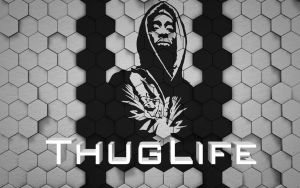 ThugLife and Tupac by curtisblade