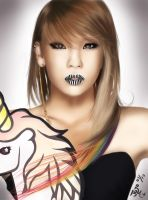 2ne1 - Cl by takojojo15