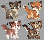 Auction Adopts (CLOSED) by Foxibau