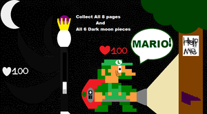 Luigi Vs King Slender Man. by TristanMendez
