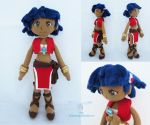 Nadia Plush Doll by dolphinwing