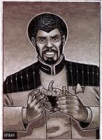 Captain Dante of Starfleet by Frohickey