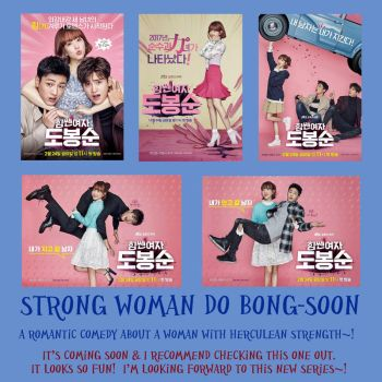 Highlighted K-drama: Strong Woman Do Bong-Soon by LuffyNoTomo
