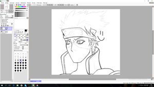Watch me noe draw ONLINE kakashi hatake by Tipsutora