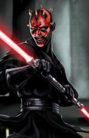 Darth Maul - by AJ Moore by GudFit