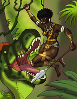 Bwanga and the Tyrant by BrandonSPilcher
