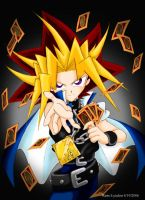 YGO - Yami Yugi's Card Play by yukito-chan