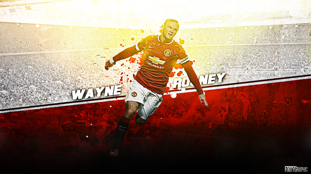 Wayne Rooney wallpaper by Footygraphic