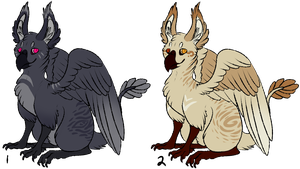 Griffin Auction! (CLOSED) by necrovut
