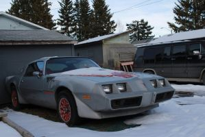 Snowy Trans Am by KyleAndTheClassics