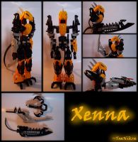 MOC: Xenna by 1mperfectionist