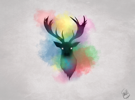 Game of Thrones - Baratheons (Deer) by Looksnookem