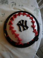 Baseball Cake by PnJLover