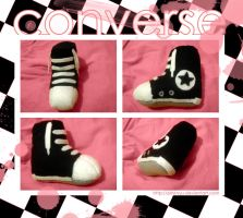 converse plushies - selling by PinkNyu