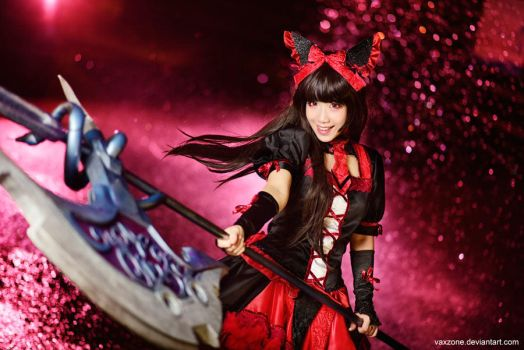 Rory Mercury - Combat prowess by vaxzone