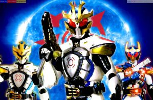 Kamen Rider Ixa: Fist On and Rise Up! by OOO19415