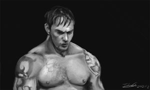 Tom Hardy,Warrior by julian2105