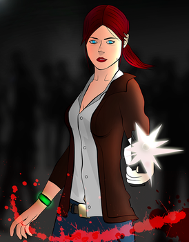 Claire Redfield: Revelations 2 by Matt-Addison