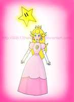 Princess Peach Wins by Lilith13thevampire