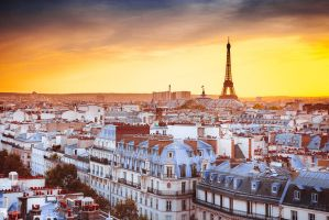 Golden hour in Paris by sican