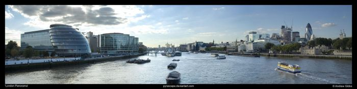 London Panorama by pyrascape