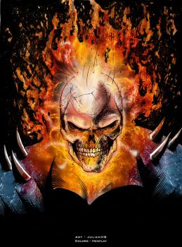 Ghost Rider by henflay