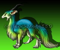 Dragon Dog by BlackMage339