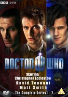 Doctor Who fan made Complete Series DVD Cover by PandawithGun