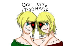 Dark Woods Circus - One With Two Heads by GothicLotia