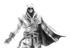 Ezio by JustABeautifulDream