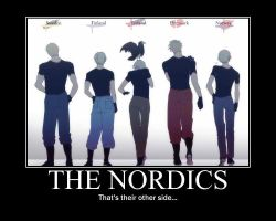 APH Nordics: their other side by MaraCroft3