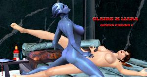 Claire X Liara    EROTIC-PASSION 2    5-24-2015 by blw7920